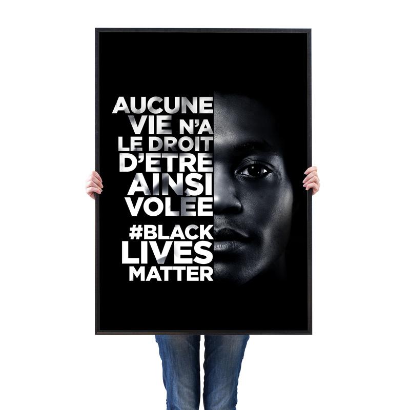 Conception d\\\'une campagne sur le mouvement #Blacklivesmatters