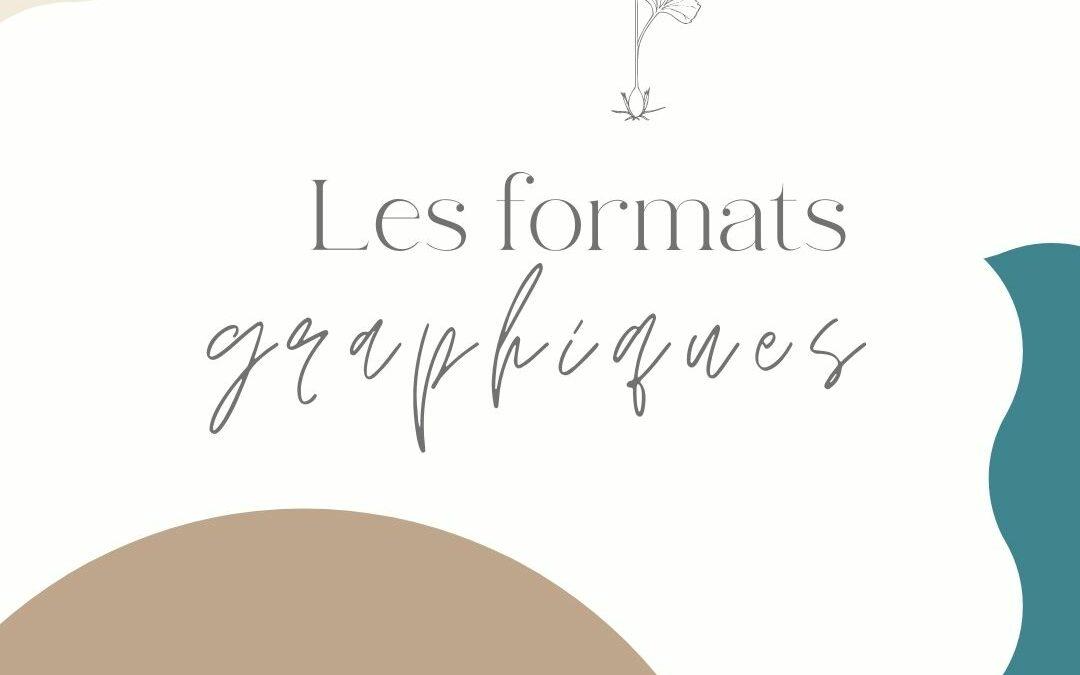 Quel formats pour ses fichiers graphiques ?
